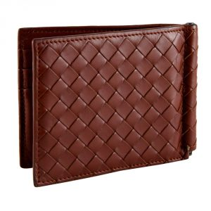 Shop Designer men Wallets Online India My Luxury Bargain Bottega Veneta Brown Intrecciato Wallet