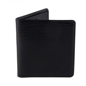 shop authentic luxury wallets online india My Luxury Bargain LOUIS VUITTON BLACK EPI LEATHER BI FOLD WALLET