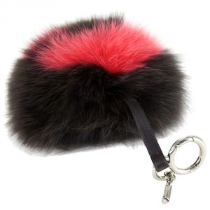 Fendi Pom Pom Bag Charm