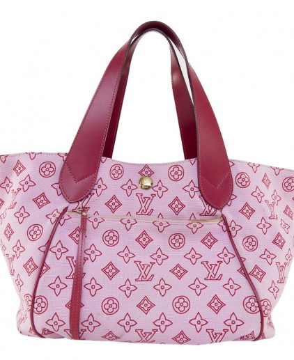 Louis Vuitton Pink Canvas Tote