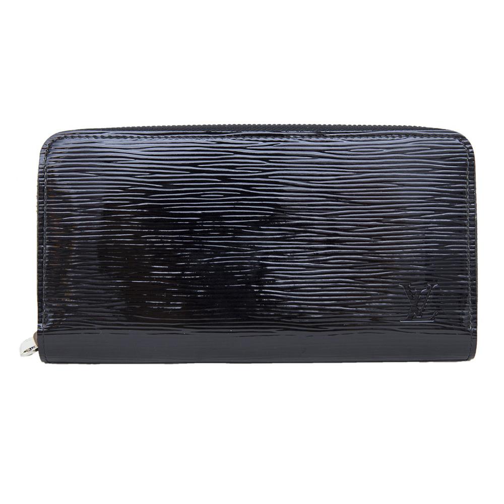 Louis Vuitton Black Epi Leather Zippy Continental Wallet 0947dc56bbf