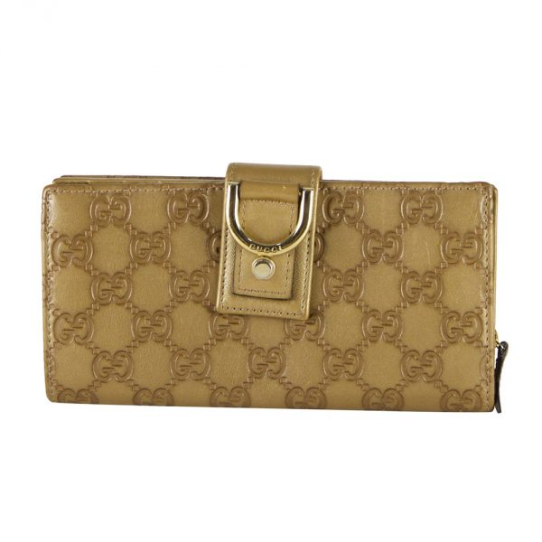 Gucci Gold D Ring Wallet