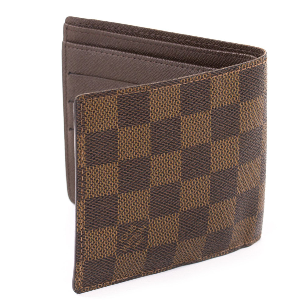 louis vuitton damier ebene men�s wallet